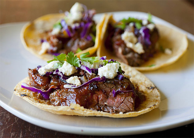 Steak Tacos at werd.com