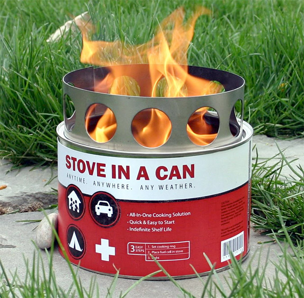 Stove in a Can at werd.com