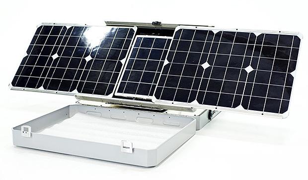SunSocket Sun-Tracking Solar Generator at werd.com
