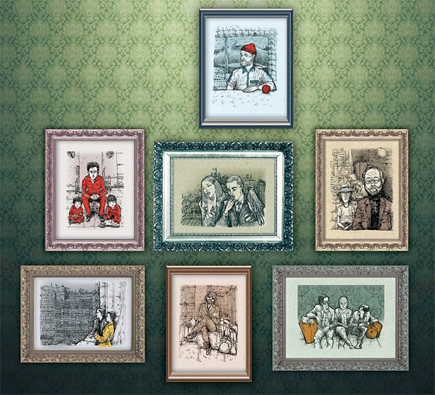 suPmon Wes Anderson Prints at werd.com