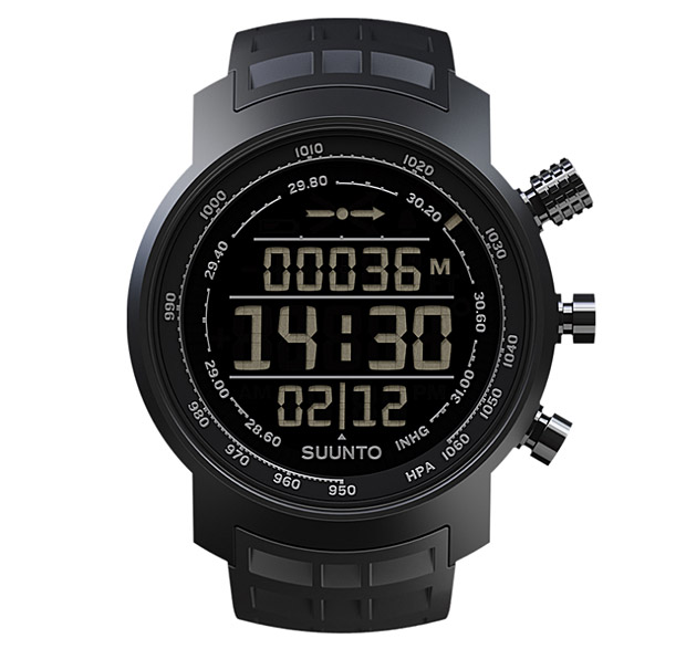 Suunto Elementum Terra All Black at werd.com