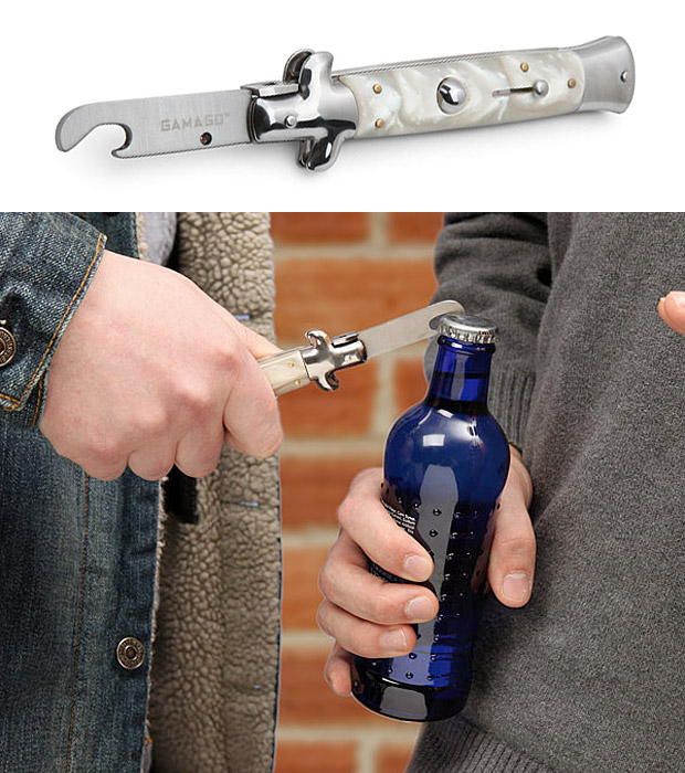 Switchblade Bottle Opener at werd.com