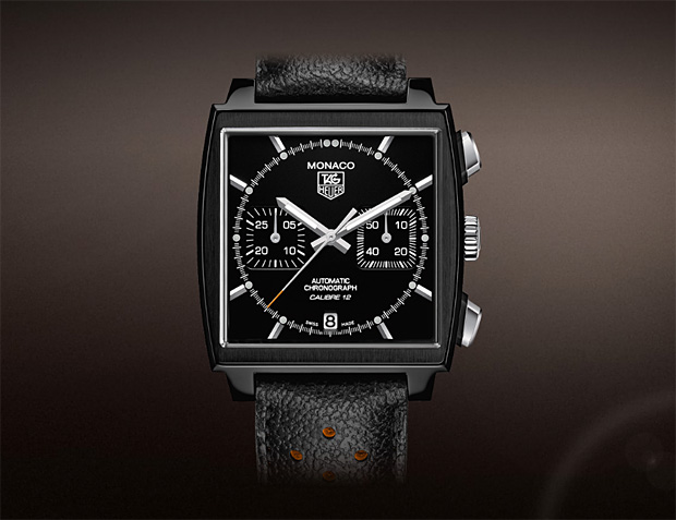 TAG Heuer Monaco Automobile Club de Monaco Black Edition at werd.com