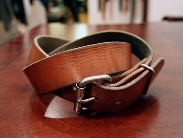 Tanner Goods Belts at werd.com