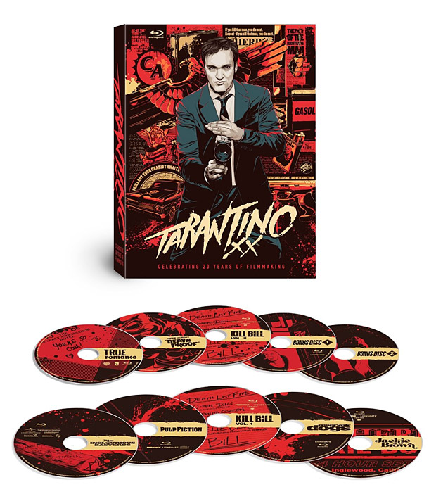 Tarantino XX 8-Film Collection at werd.com