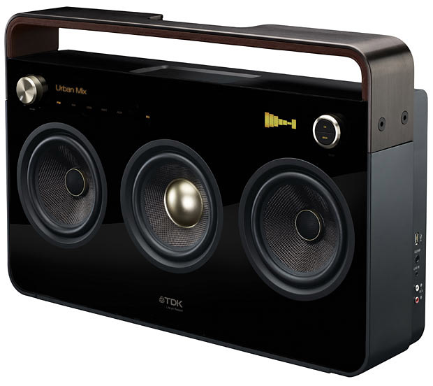 TDK Boombox at werd.com
