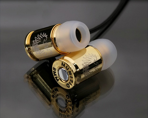 Teknines Nine Millimeter Earphones at werd.com