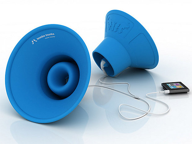 Tembo Trunks Earbud Speakers at werd.com
