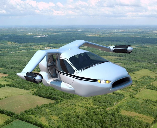 Terrafugia TF-X Flying Car at werd.com