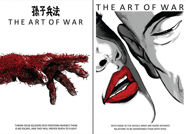 The Art Of War Prints at werd.com