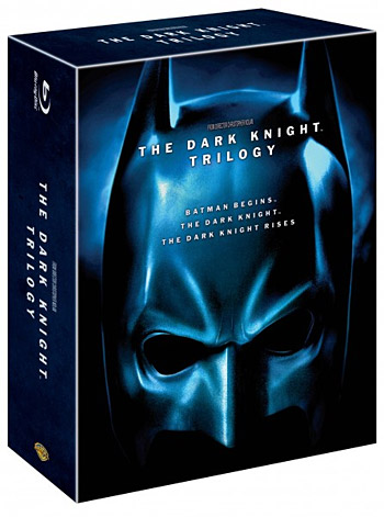 The Dark Knight Trilogy Blu-ray at werd.com