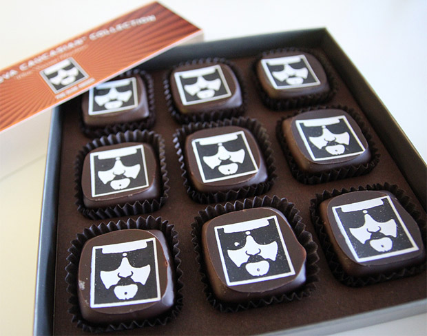 The Dude White Russian Chocolates at werd.com