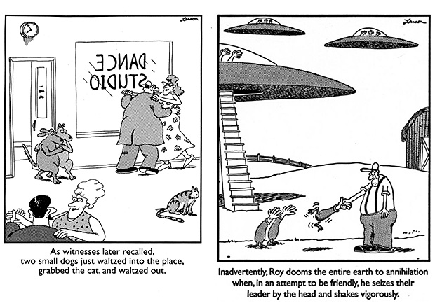 Far Side Comic School For The Gifted