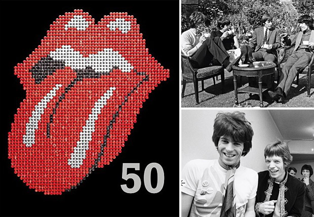 The Rolling Stones 50 at werd.com