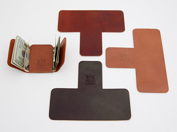 Leffot The Fold Wallet at werd.com
