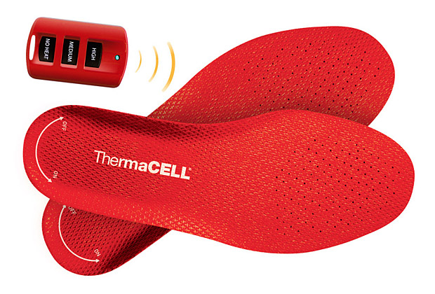 ThermaCell Heated Insoles at werd.com