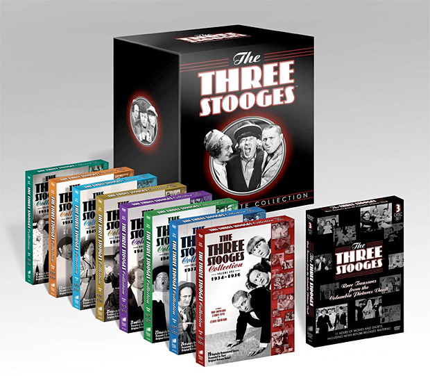 The Three Stooges: The Ultimate Collection at werd.com