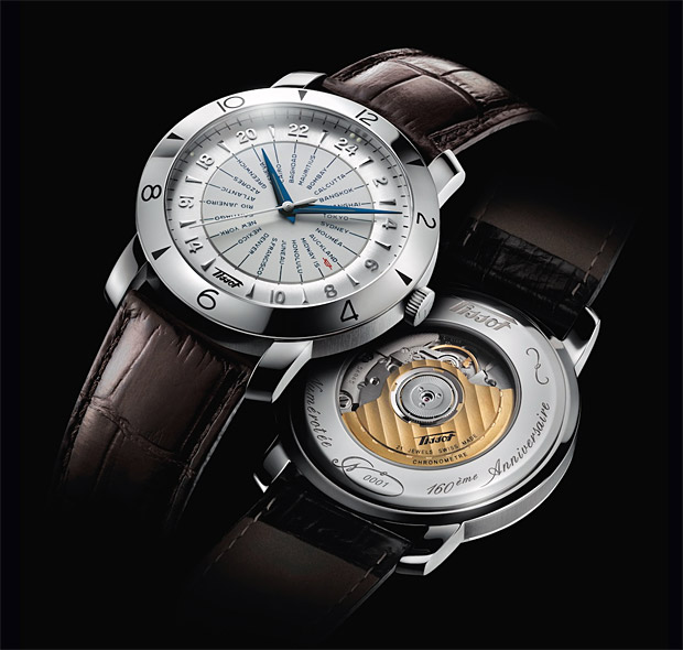 Tissot Heritage Navigator 160th Anniversary Watch at werd.com