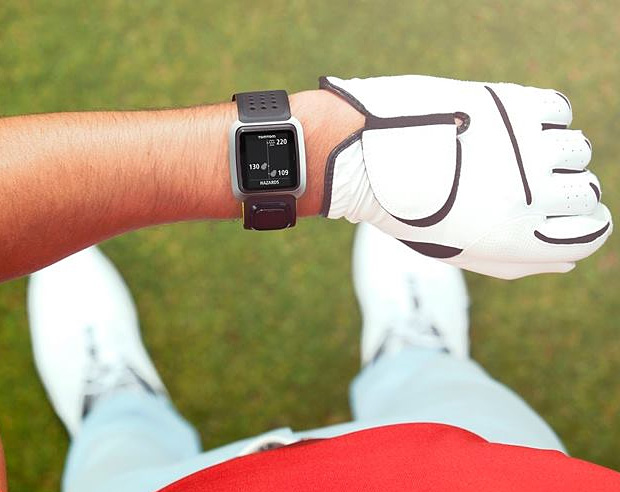 TomTom Golfer at werd.com