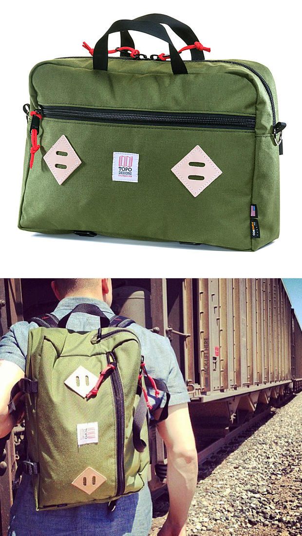 Topo Designs Mountain Briefcase at werd.com
