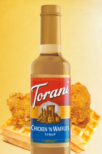 Would You Try Chicken  N Waffles Syrup