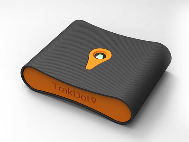 TrakDot Luggage Tracker at werd.com