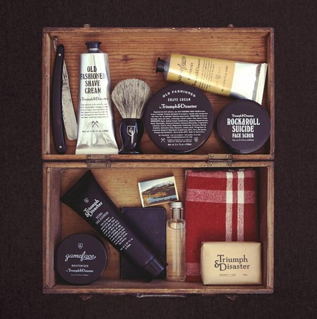 Triumph & Disaster Grooming Products at werd.com