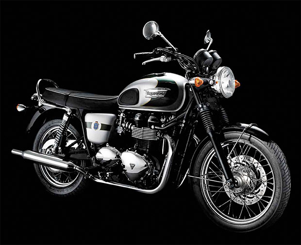 Triumph Bonneville T100 110th Anniversary Edition at werd.com