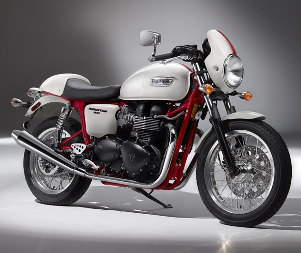 2010 Triumph Thruxton SE at werd.com