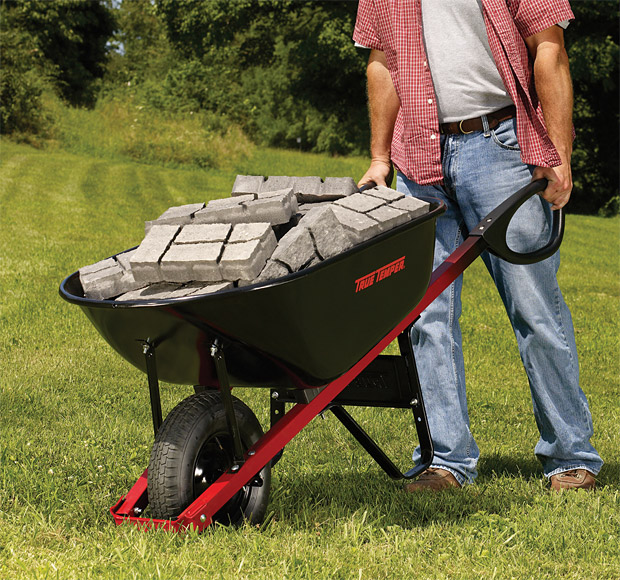 True Temper Total Control Wheelbarrow at werd.com
