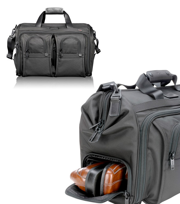 Tumi Alpha Carry-On Satchel at werd.com