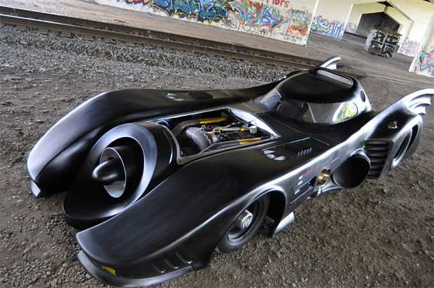World's Only Jet Turbine Powered Batmobile For Sale at werd.com