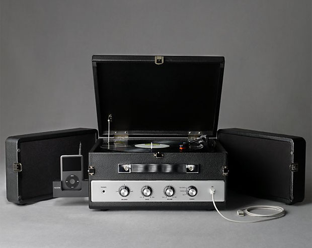 Restoration Hardware LP Converter Turntable at werd.com