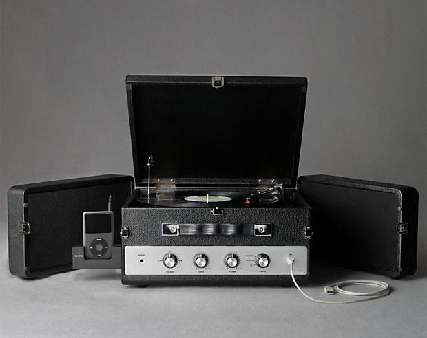 Restoration Hardware LP Converter Turntable at werd.com
