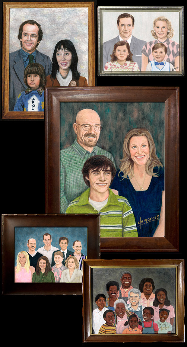 TV & Film Family Portraits at werd.com