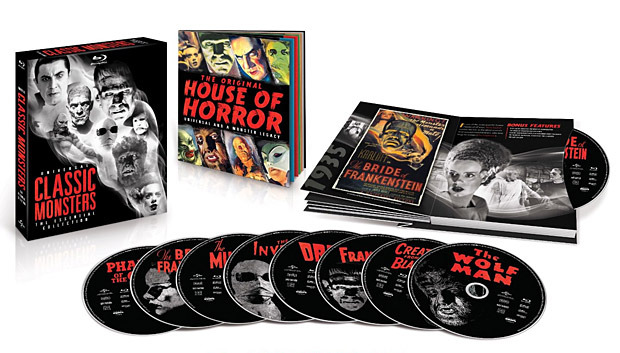 Universal Classic Monsters: The Essential Collection at werd.com