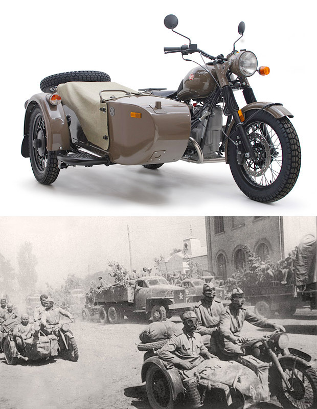 Ural M70 Anniversary Edition at werd.com