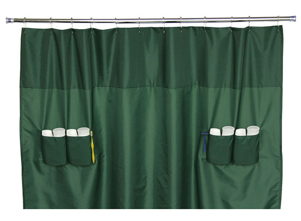 Utility Shower Curtain at werd.com