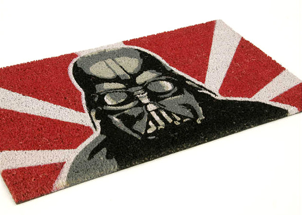 Retro Darth Vader Doormat at werd.com