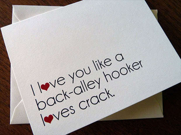 The Perfect Valentine's Day Card at werd.com