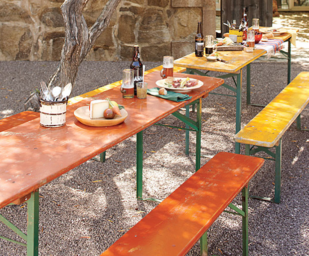 Vintage Biergarten Table at werd.com