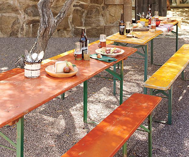Vintage Biergarten Table at werd.com