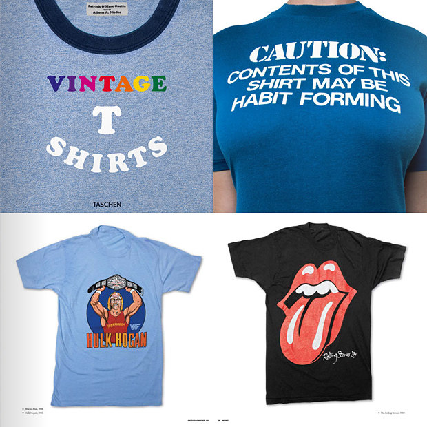 World of Vintage T-Shirts by Taschen at werd.com