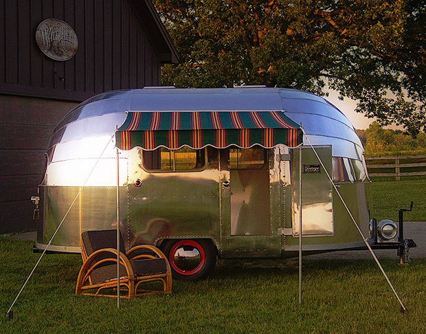 Vintage Airstream Trailering at werd.com