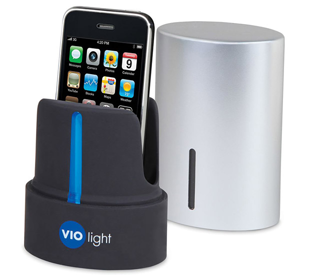 Violight UV Cell Phone Sanitizer at werd.com
