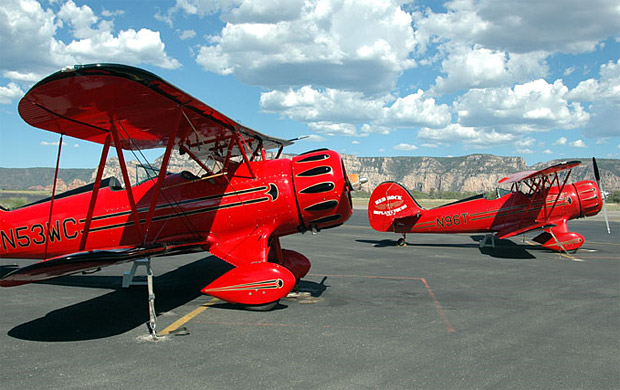 WACO Modern Biplane at werd.com