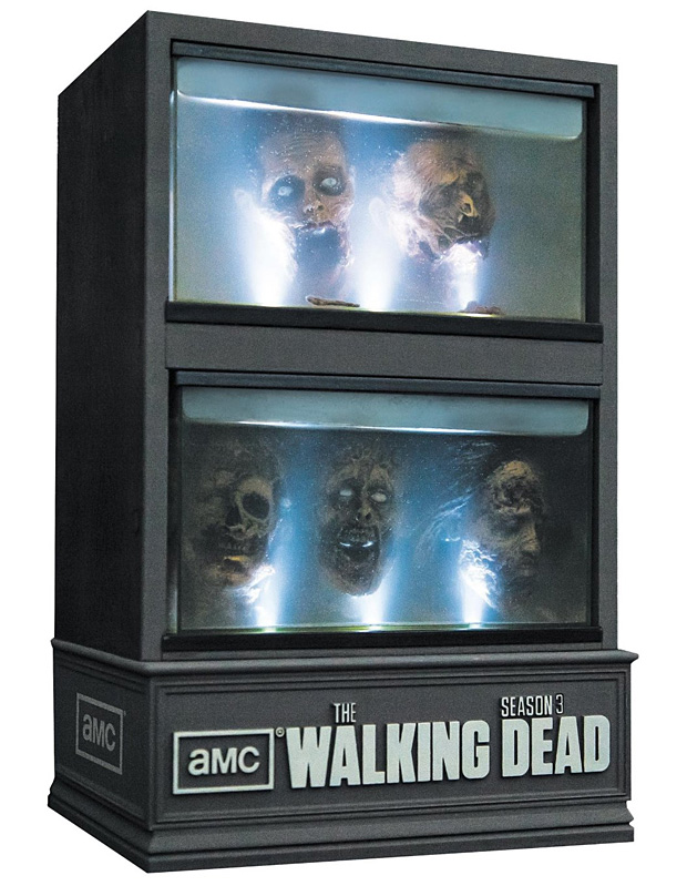 The Walking Dead Season 3 Limited Edition Blu-ray at werd.com