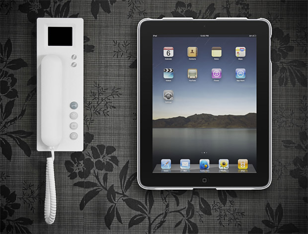 Wallee iPad Wall Mount at werd.com