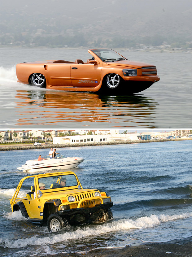 Watercar Amphibious Vehicles at werd.com