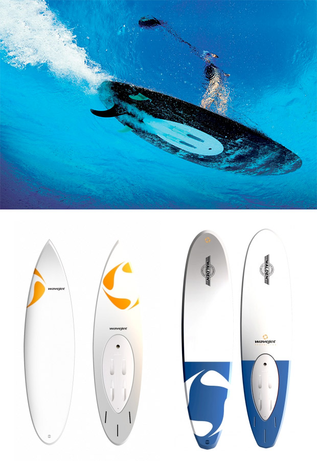 WaveJet Surfboards at werd.com